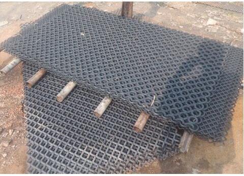 锰钢焊接矿山筛网